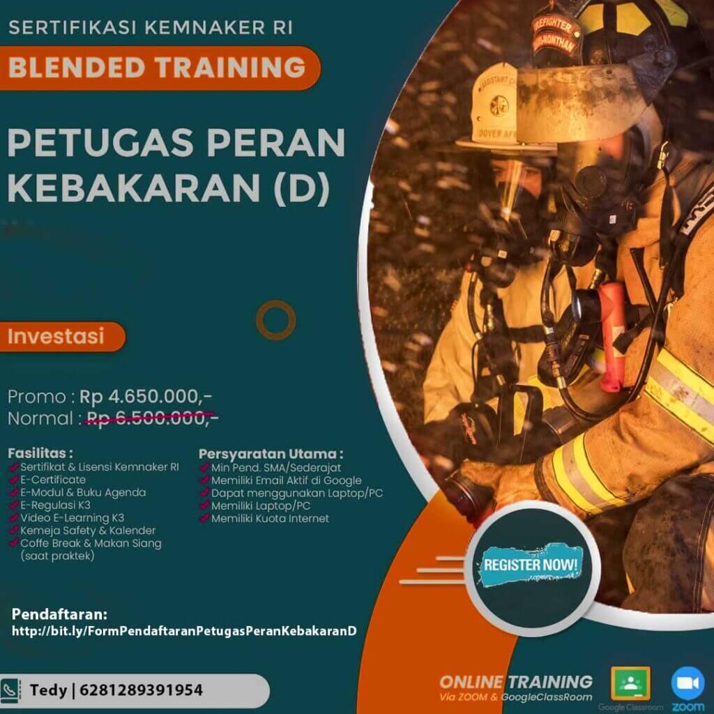 Blended Training Petugas Peran Kebakaran (D)